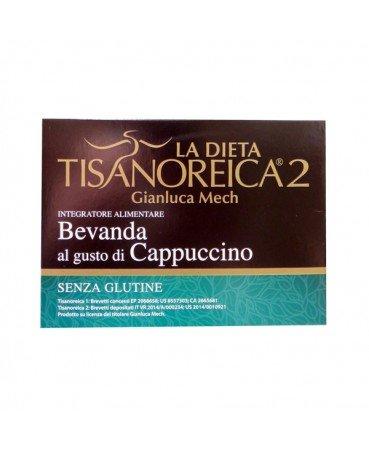 BEVANDA AL GUSTO DI CAPPUCCINO dieta Tisanoreica 2 confezione da 4 buste - senza glutine-0